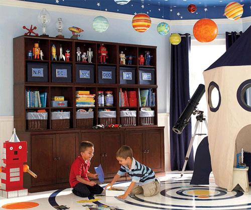 Игровая зона в детской комнате: идеи и советы
