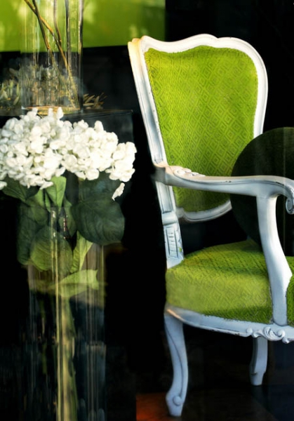Зеленый интерьер: яркие краски лета