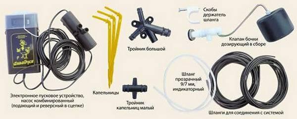 Аквадуся: особенности автоматической системы микрокапельного полива для теплиц