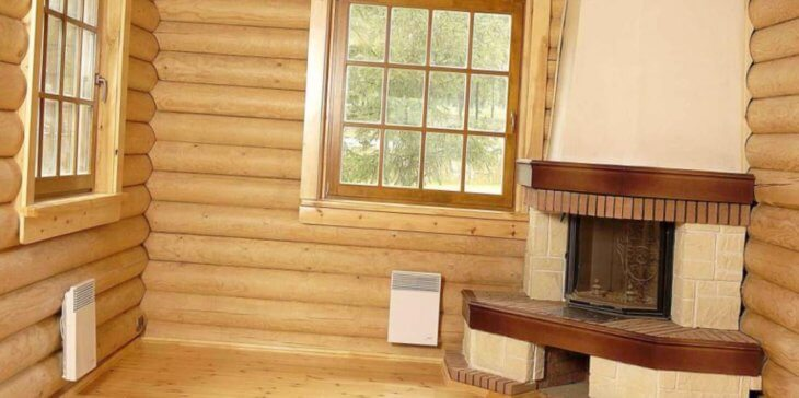 Блок хаус в интерьере: разновидности и размеры блок хауса под бревно, инструкция по монтажу полотна