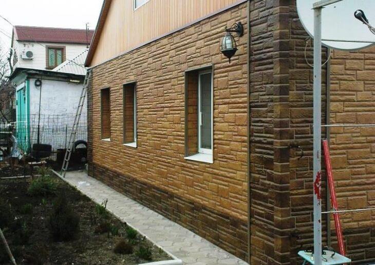 Фасадные панели альта профиль для строительства и ремонта используем