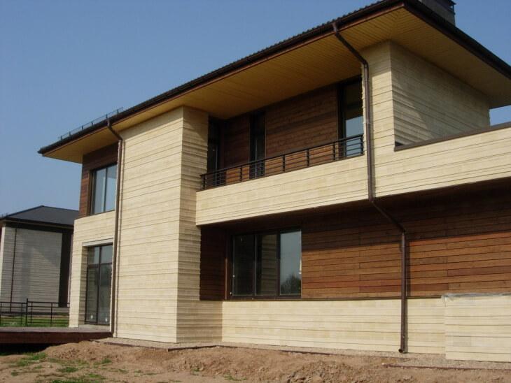 Фиброцементные панели для стильных фасадов и прочных перегородок