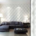 Гипсовые панели с эффектом 3d: просто и красиво