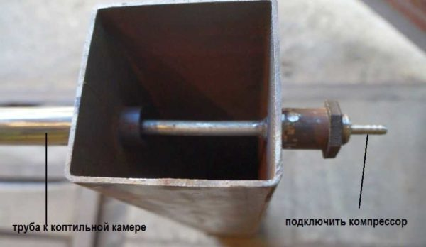 Как сделать генератор дыма для коптильни