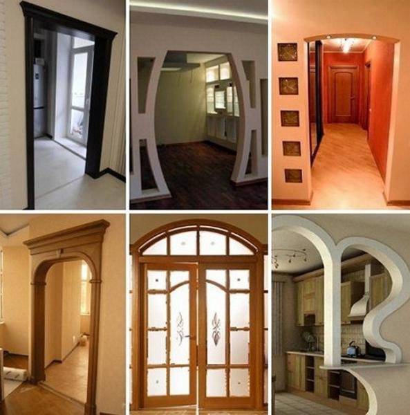 Как уменьшить дверной проем по ширине и высоте