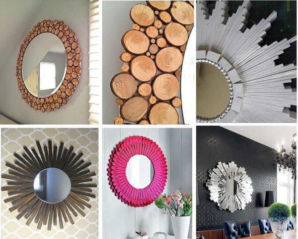 Самостоятельное декорирование зеркала