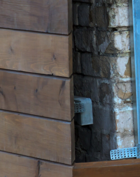 Современные вентилируемые фасады общественных зданий, частных домов