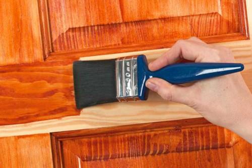 Старая дверь из массива: реставрация своими руками