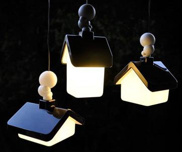 Светильники в детскую комнату